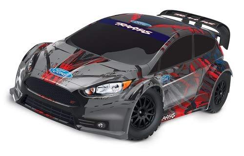 - Traxxas 1/10 Scale Remote Control AWD Ford Fiesta ST Rally Race Car with TQ 2.4GHz Radio