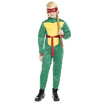 Disfraz Super Héroe Tortuga niño infantil (7-9 años): Amazon.es ...