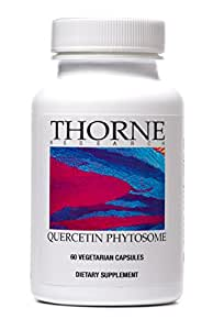 Thorne Research - Quercetin Phytosome - Exclusive Phytosome Complex for Enhanced Quercetin Absorption - Dietary Supplement- 60 Capsules