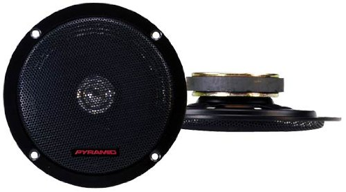 - Pyramid 526DC 5.25-Inch 100 Watts TwoWay Dual Cone Speakers with BuiltIn Grill