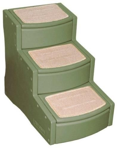Cheap Pet Gear 24″ Easy Steps III Dog Cat 3 Stairs Ramp – Sage Colors
