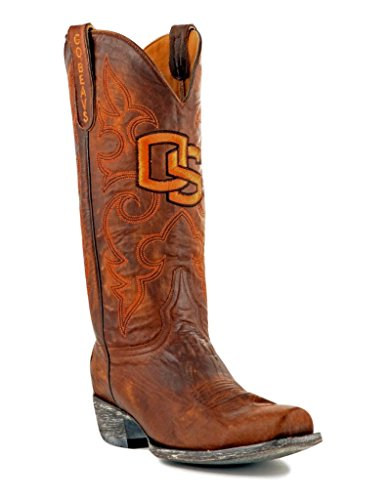 NCAA Oregon State Beavers Men's Board Room Style Boots, Brass, 10.5 D (M) US (Boots State Oregon Rain)