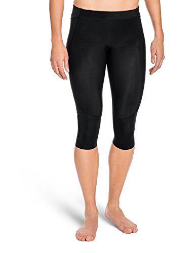 SKINS Women's A400 Compression 3/4 Tights, Black, Small