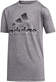 Adidas Short Sleeve Poly TEE,M/M,Grey H