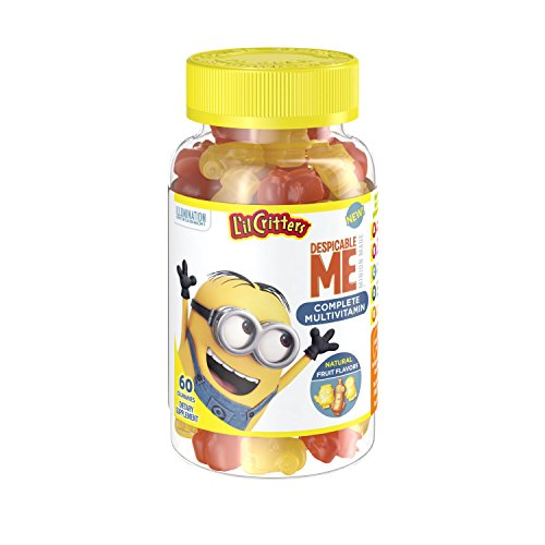 Lil Critters Minions Multivitamins Gummies, 60 Count