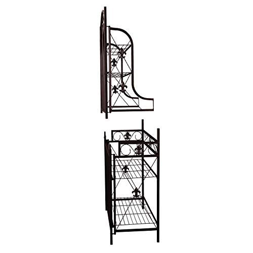 Home Source R-0019 Black Baker's Rack by Home Source (Image #4)