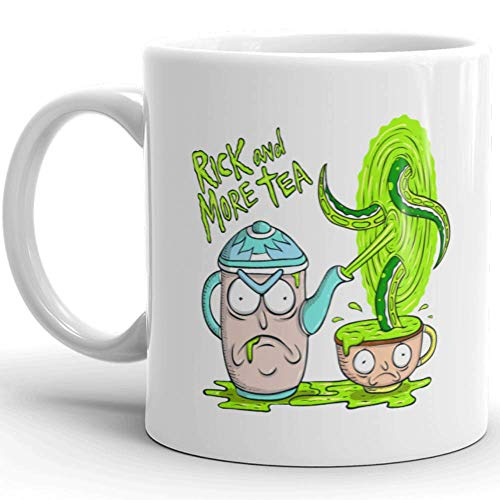 Rick & Morty Tea Mug Coffee Mug : Cute Mug