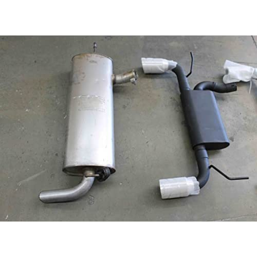 Low Cost Exhaust >> Low Cost Legato Performance Lex4160 Axle Back Exhaust Kit