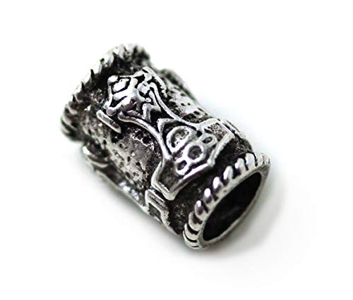 LynnAround 925 Sterling Silver Norse Thors Hammer