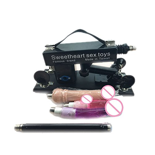 Automatic Retractable Gun Sex Machine Female Masturbation Pumping Gun Sex Machine Sex Products with s,Black Style A