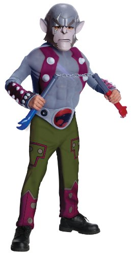 ThunderCats Animated Panthro Deluxe Muscle Chest Costume - Medium
