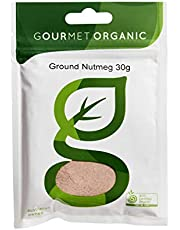 Gourmet Organic Herbs Nutmeg Ground, 30 g