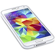 Caseiopeia SimplySafe Ultra Slim Case Premium Flexible TPU Cover for Galaxy S5 - Retail Packaging - Clear