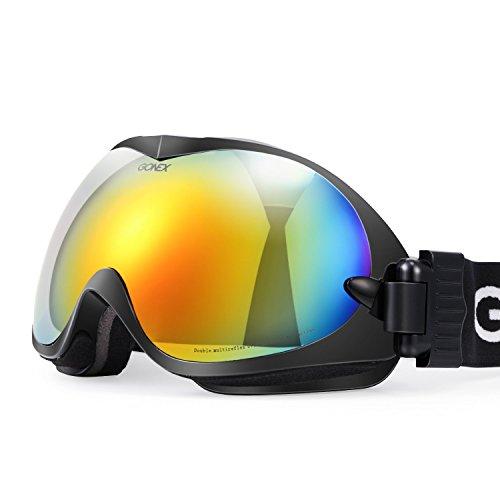 Gonex Professional Ski Goggles OTG Anti-fog Win...