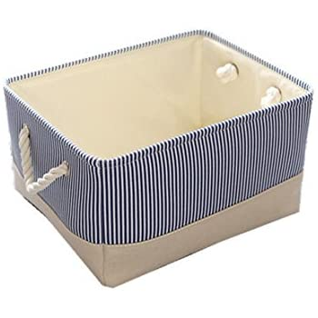 Delicieux TheWarmHome Small Basket Canvas Basket Decorative Fabric Storage Basket For  Toy Basket Clothes Storage Baby Basket