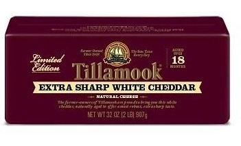 Tillamook Extra Sharp White Cheddar Cheese 2lb Loaf
