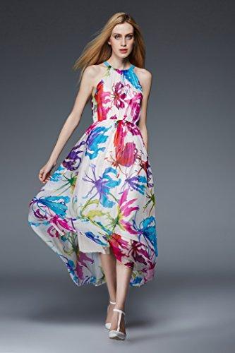 Linie Kleid Blau Drasawee Damen 3 A nRwqnYES