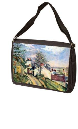 House of Dr. Gachet By Paul Cezanne Laptop Bag - Messenger Bag - Shoulder (Doctor Gachets House)