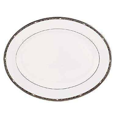 Lenox Pearl Platinum Bone China 16-Inch Platter
