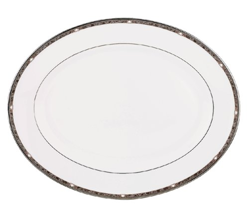 - Lenox Pearl Platinum Bone China 16-Inch Platter