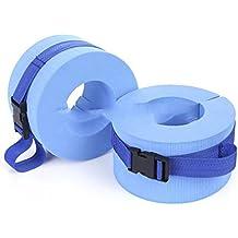 One Pair Swim Discs Foam Swimming Float Ring Water Swimming Weights Aquatic Cuff