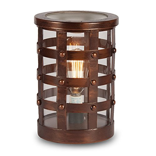 Edison Colosseum Electric Scented Home Fragrance Lamps - Perfect Gifts Accessory For Men - Decorative Jar That Sets Safely on Any SurfaceCLEARANCE ITEM