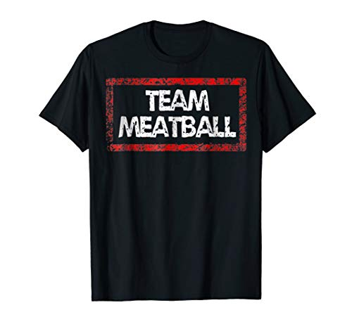 Team Meatball Tshirt (Cloudy With A Chance Of Meatballs 2 Summary)