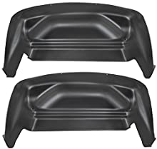 Husky Liners 79131 Black Rear Wheel Well Guards Fits 17-19 F250/350 2 Pack