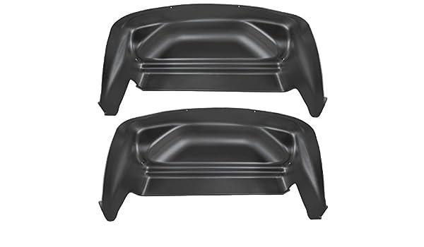 Husky Liners 79141 negro rueda trasera guardia así (encaja 17 - 18 F150 Raptor): Amazon.es: Coche y moto