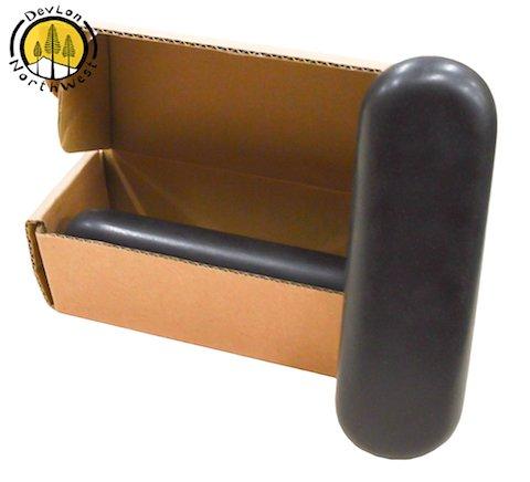 DevLon NorthWest Hot Stone Massage Set Pressure Point Basalt Stone Set 2 PC