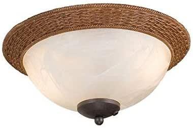 Harbor Breeze 2-Light Aged bronze Incandescent Ceiling Fan ...