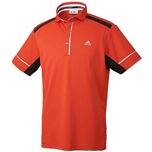 【エンタメプレゼント マーカー付セット】アディダス CP クーリングプリント S/S ワイドカラーシャツ ポロシャツ adidas Golf CCO30 [男性 ゴルフウエア 紫外線対策 UVカット 赤外線遮断 吸水速乾]