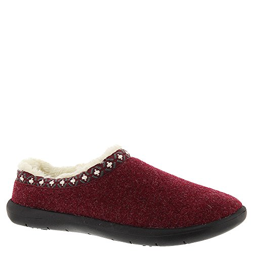 Tempur-Pedic Women's Subarctic,Ruby Wool/Nylon,US 6 (Nylon Wool Heels)