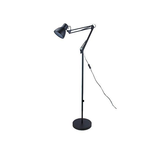 Lámpara de pie Americana Lectura Industrial Luminaria de pie ...