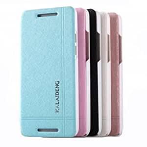 KALAIDENG Iceland PU+PC Leather Protective Case For HTC ONE MINI M4 --- Color:Blue