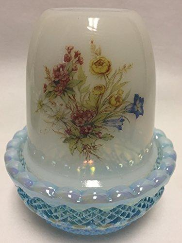 Light Blue Milk Glass - 4