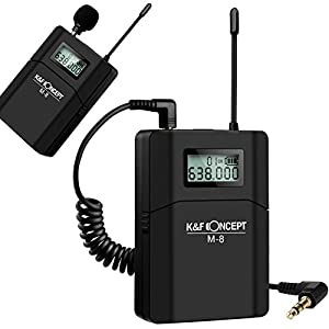 K&F Concept UHF Unidirectional Wireless Microphone