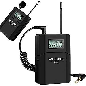 K&F Concept UHF Unidirectional Wireless Microphone