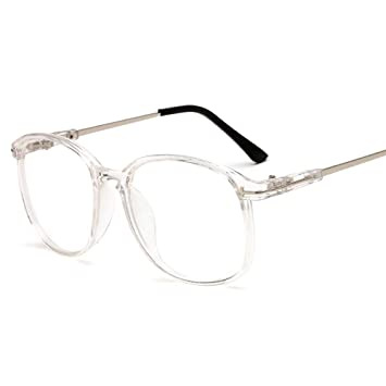 b29aca8bddc5 Image Unavailable. Image not available for. Color  Rongchy Fashion Oversize Full  Frame Reading Glasses Men Women Reader Clear Color Eyewear ...