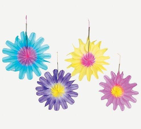 Fun Express Tissue Flower Decorations