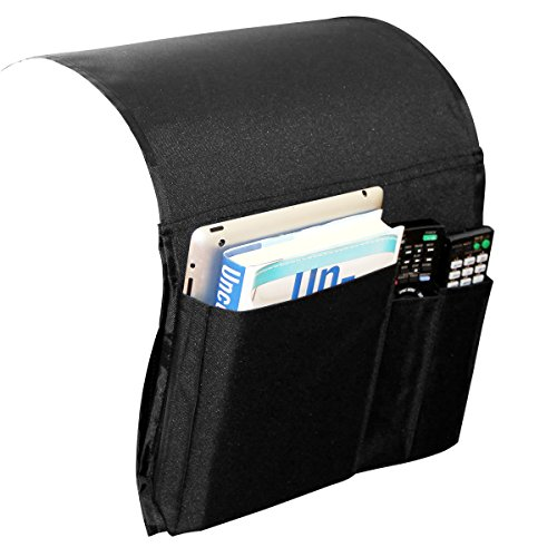 Fasthomegoods Armrest Caddy Pocket Organizer - Audio Recliner Chair