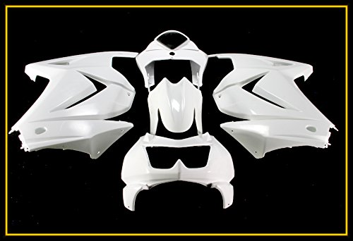 - Protek Unpainted ABS Plastic Injection Mold Full Fairings Set Bodywork Cowl for 2008 2009 2010 2011 2012 Kawasaki Ninja 250R EX250J