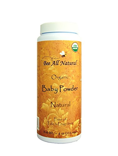 Bee All Natural, Baby Powder Organic, 5 ()