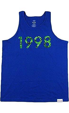 Diamond Supply Co. Men's 1998 Homegrown Tank Top Shirt, Royal Blue, XL (Diamond Supply Co 1998)