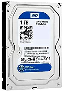 WD WD10EZEX-00BN5A0 1 TB SATA Internal Hard Drive - Silver and Black