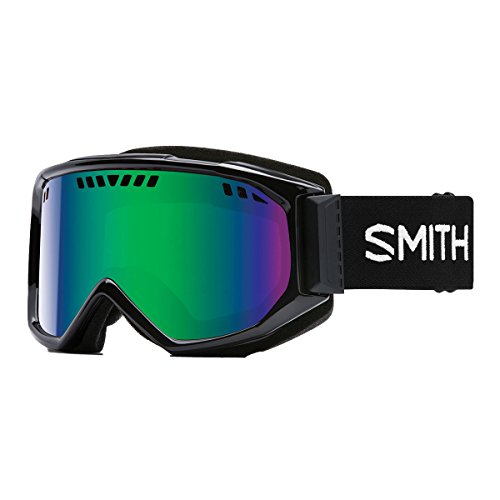 Smith Optics Adult Scope Snow Goggles Black Frame/Green Sol-X - Manufacturers Usa Eyewear