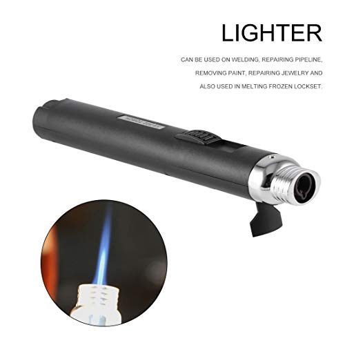 Swiftswan Protable Jet Pencil Torch Butane Gas Lighter for Camping Cigarette Cigar