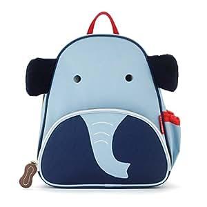 Skip Hop Zoo Toddler Kids Insulated Backpack Edi Elephant Boy, 12-inches, Blue