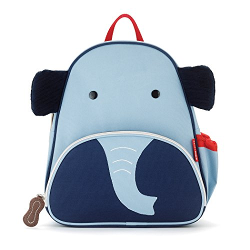 Skip Hop Zoo Little Kid and Toddler Backpack, Edi Elephant