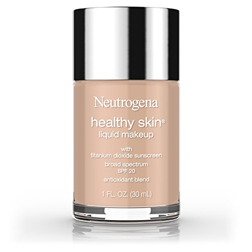 Warm Beige Foundation - Neutrogena Healthy Skin Liquid Makeup Foundation, Broad Spectrum Spf 20, 90 Warm Beige, 1 Oz.